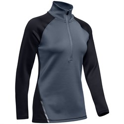 Under Armour ColdGear® Armour 1​/2 Zip Colorblock Shirt - Women's