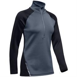 Under Armour ColdGear® Armour 1/2 Zip Colorblock Shirt - Women's
