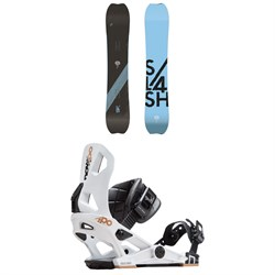 Slash Brainstorm Snowboard ​+ Now IPO Snowboard Bindings 2019