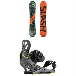 Slash Happy Place Snowboard ​+ Now Brigade Snowboard Bindings 2019