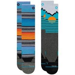 Stance Mountain 2-Pack Snow Socks