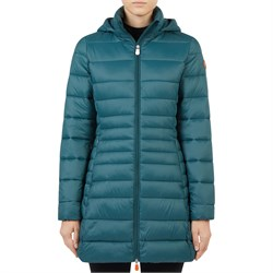 Save the Duck Giga Long Hood Jacket - Women's