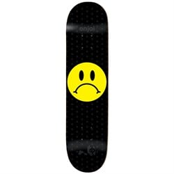 Enjoi Frowney Face R7 8.375 Skateboard Deck - Used
