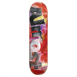 Almost Color Bleed HYB Red 8.25 Skateboard Deck