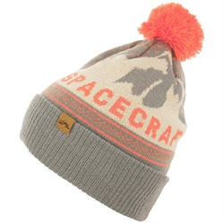 Spacecraft Mountain Pom Beanie