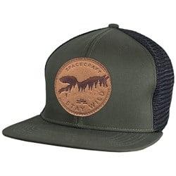 Spacecraft Wild Flat Brim Trucker Hat