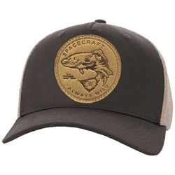 Spacecraft Wild Curved Brim Trucker Hat