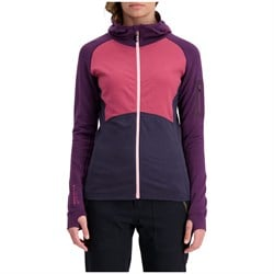 MONS ROYALE Ascend Midi Full Zip Hoodie - Women's