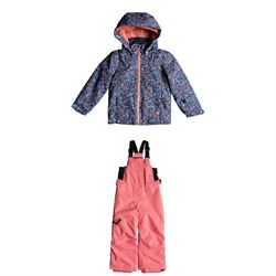 Roxy Mini Jetty Jacket ​+ Roxy Lola Bibs - Little Girls'