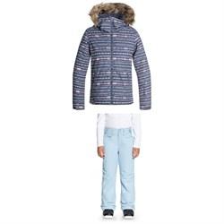 Roxy American Pie Jacket + Roxy Backyard Pants - Girls'