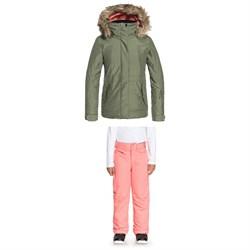 Roxy Tribe Jacket - Girls' + Roxy Backyard Pants - Girls'
