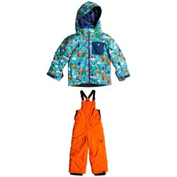 Quiksilver Mr Men Little Mission Jacket - Little Boys' ​+ Quiksilver Boogie Bib Pants - Little Boys'