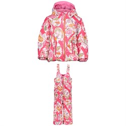 Obermeyer Cakewalk Jacket ​+ Obermeyer Snoverall Printed Pants - Little Girls'