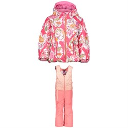 Obermeyer Cakewalk Jacket - Little Girls' ​+ Obermeyer Ober-All Bibs - Little Girls'