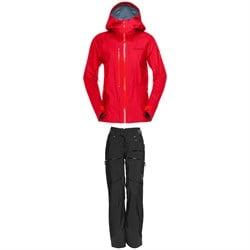 Norrona Lofoten GORE-TEX Active Jacket + Lofoten GORE-TEX Pro Light Pants - Women's