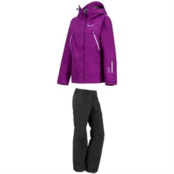 Marmot Spire Jacket ​+ Marmot Slopestar Pants - Women's