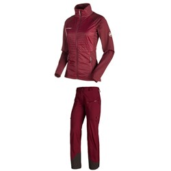 Mammut Luina Tour IN Jacket  ​+ Mammut Luina Tour HS Pants - Women's
