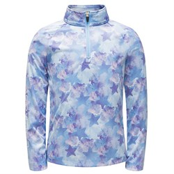 Spyder Bitsy Limitless Stargazer Zip T-Neck Fleece - Little Girls'