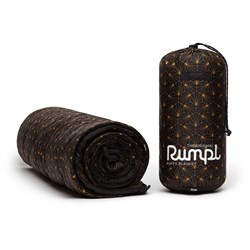 Rumpl Original Puffy Blanket - Black & Gold