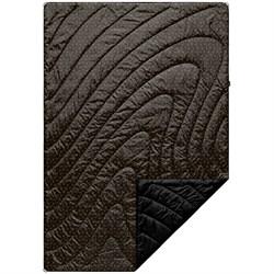 Rumpl Original Puffy Blanket - Black & Gold