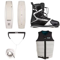 Massi Special - Ronix RXT Wakeboard Package + Combo 5.0 Handle & 80 ft Mainline + Follow Axe Wake Vest 2019