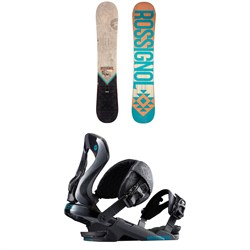 Rossignol Templar Snowboard + Rossignol Cobra Snowboard Bindings
