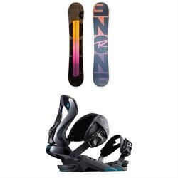 Rossignol ONE LF Snowboard + Rossignol Cobra Snowboard Bindings 2019