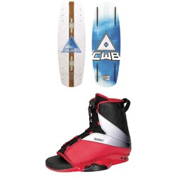 Connelly Vibe Wakeboard + Empire Wakeboard Bindings