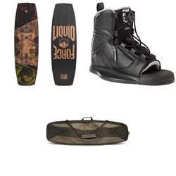 Liquid Force Verse Wakeboard ​+ Index Wakeboard Bindings ​+ Day Tripper DLX Classic Wakeboard Bag
