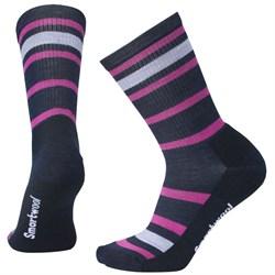 Smartwool Stripe Hike Light Crew Socks - Women's