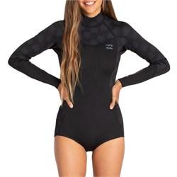 Billabong 2/2 Synergy Long Sleeve Flatlock Back Zip Springsuit - Women's