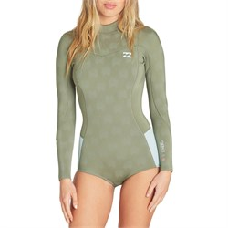 Billabong 2​/2 Synergy Long Sleeve Flatlock Back Zip Springsuit - Women's