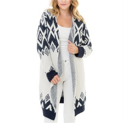 Woven Heart Flint Sweater - Women's