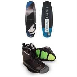 Liquid Force Omega Grind Wakeboard + Transit Wakeboard Bindings