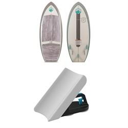 Liquid Force Dart Wakesurf Board + Wakesurf Edge Pro 2 Wake Shaper 2019