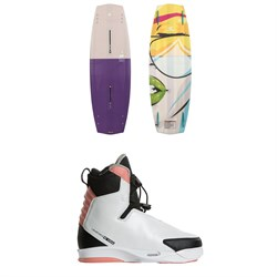 Liquid Force Melissa Wakeboard ​+ Vida 4D Wakeboard Bindings - Women's