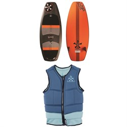 Phase Five Wire Wakesurf Board ​+ Mens Comp Wakesurf Vest