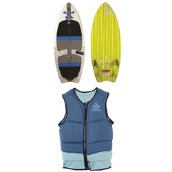 Phase Five Fang Wakesurf Board ​+ Mens Comp Wakesurf Vest