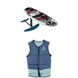 Phase Five Gizmo Wakefoil Package ​+ Mens Comp Wakesurf Vest 2019