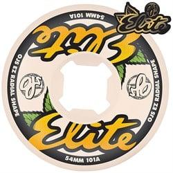 OJ Elite White EZ EDGE 101a Skateboard Wheels
