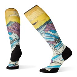 Smartwool PhD® Ski Light Elite Afterglow Print Socks - Women's