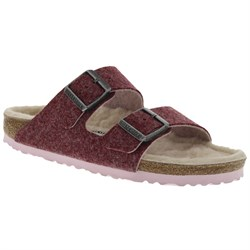 Birkenstock Arizona Happy Lamb Sandals - Women's