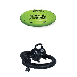 Liquid Force Party Island Float ​+ Mega Party Pump