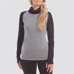 evo Ridgetop Merino Wool Midweight High Neck Top - Women's