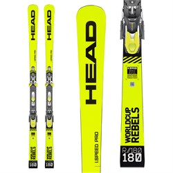 Head WC Rebels iSpeed Pro Skis ​+ EVO 14 Bindings 2020