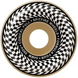 Spitfire Formula Four 99d Check Conical Full Skateboard Wheels