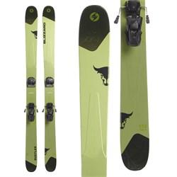 Blizzard Rustler 11 Skis + Tyrolia Attack² 13 GW Bindings  - Used