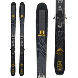 Salomon QST 99 Skis ​+ Marker Griffon 13 Demo Bindings  - Used