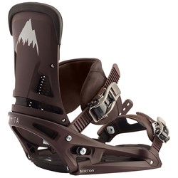 Burton Malavita EST Leather Snowboard Bindings 2020