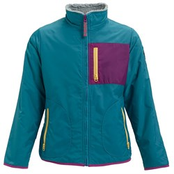 Burton Snooktwo Reversible Fleece Jacket - Girls'